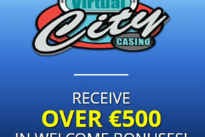 virtual city casino welcome bonus package new players