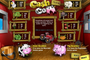lincoln casino free spins cash cow slot
