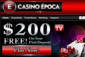 casino epoca match welcome bonus