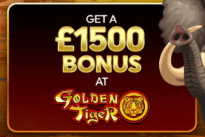 golden tiger casino deposit welcome bonus