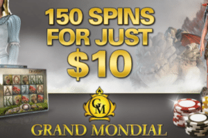 grand mondial bonus spins first deposit bonus
