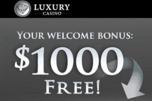 luxury casino new players welcome deposit bonus