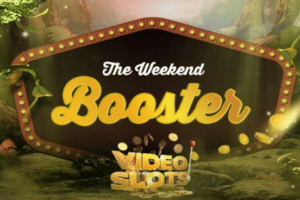 videoslots casino weekend booster cashback bonus