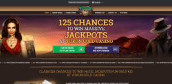 yukon gold casino 125 spins