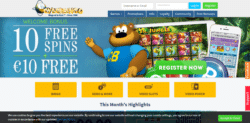 cyberbingo casino 10 free chip plus 10 free spins no deposit