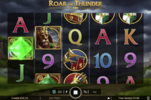 quatro casino roar of thunder slot